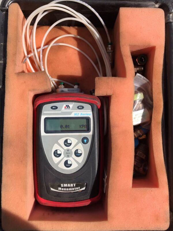 Meriam M2 Series  Smart Manometer With Case