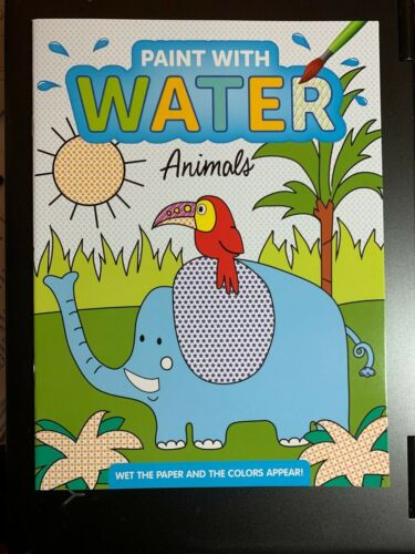 PAINT WITH WATER BOOKS FOR KIDS, NEW NO MESS PAGES! 7 COOL BOOKS TO CHOOSE FROM!