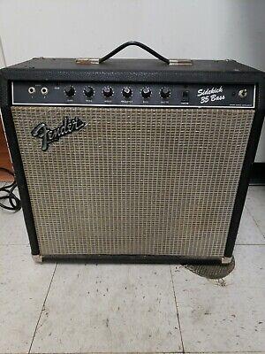 Fender Sidekick Bass 35 Amplifier