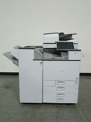 Used, Ricoh MPC4504ex C4504ex color copier printer scanner Only 37K meter 45 ppm color for sale  Shipping to Nigeria