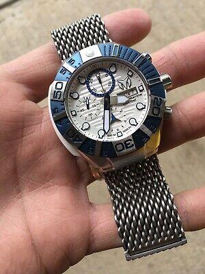 Technomarine Black Reef Swiss Made Automatic Mens Watch 45mm Valjoux 7750 ETA