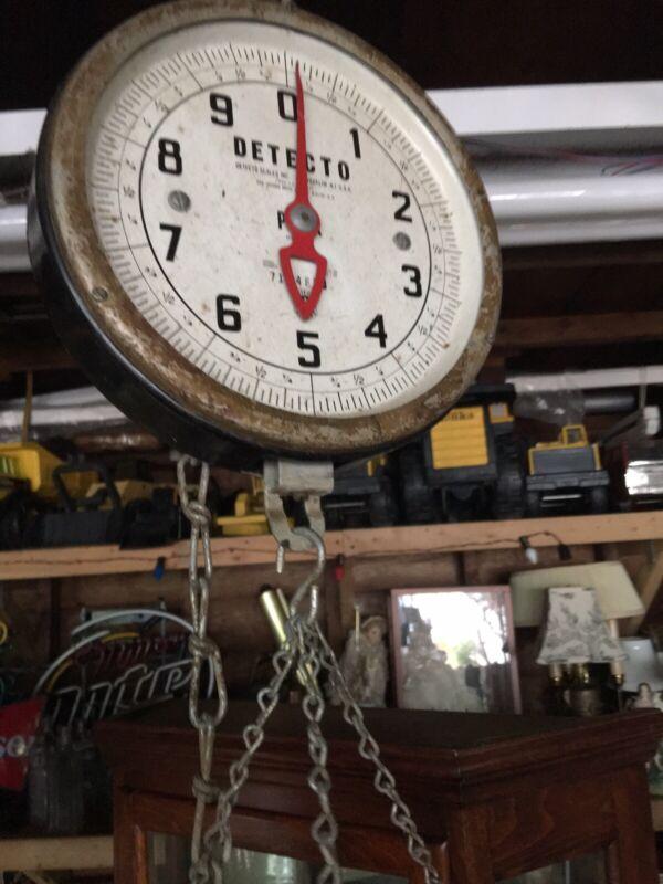 Detecto Hanging Vintage Scale