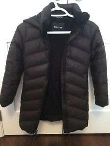 Girls Marmot Winter down coat size xs