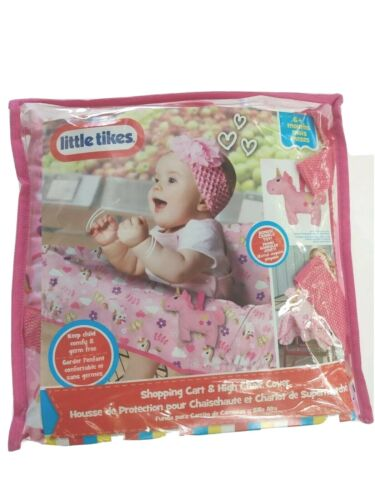 Little Tikes Infant Shopping Cart & High Chair Cover - New- 6+ Months.
