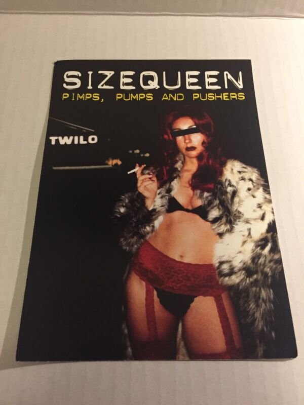 Rare Vintage 90s NYC Club Flyer: PETER RAUHOFER/CLUB 69/SIZEQUEEN @ TWILO NYC