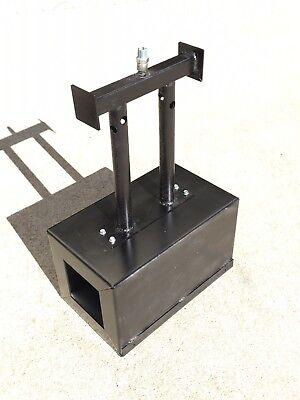 Lp Propane Gas Double Burner Gas Forge Blacksmith Ferrier Knifemaking Usa Made