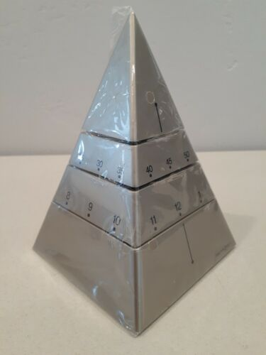 TIME PYRAMID CLOCK / CHAMPAGNE COLOR / ABSOLUTELY BRAND NEW