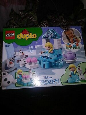 LEGO DUPLO 10920 Disney Frozen Toy Elsa and Olaf's Tea Party new 17 pcs 2yrs+