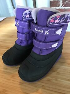 Girls Kamik Winter Boots size 10