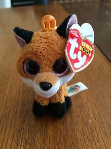 Slick the Fox keychain Beanie Boo