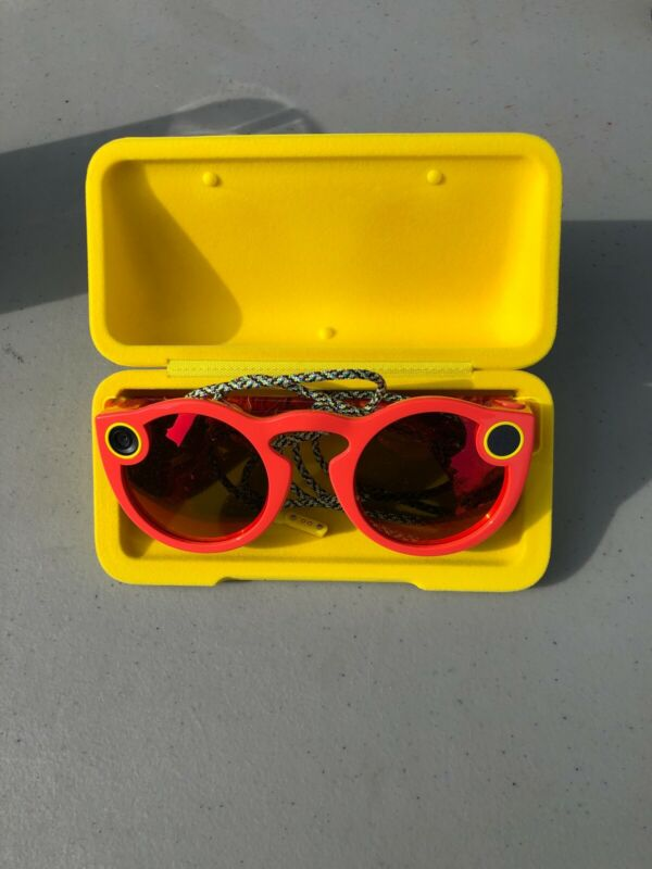 Spectacles Just for Snapchat Sunglasses CORAL