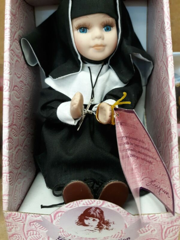 Goldenvale Collection Religious Nun Porcelain Doll Sister Cathy New In Box