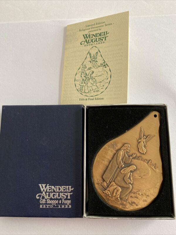 Wendell AUGUST Bronze JOSEPH