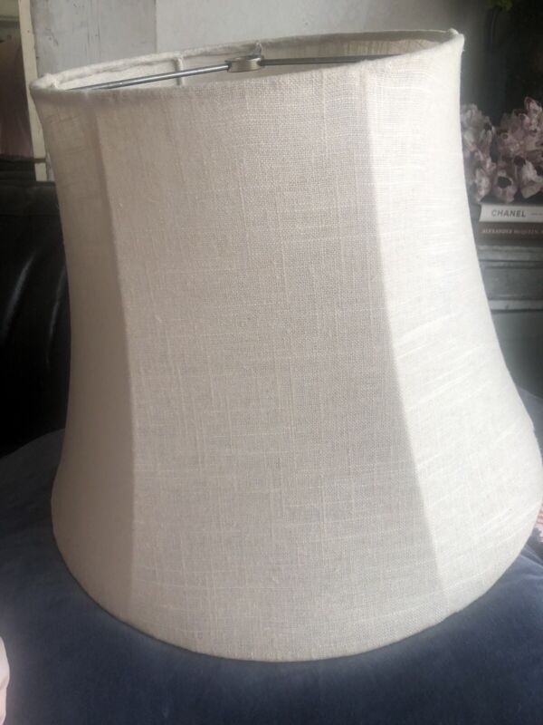 Rachel Ashwell Shanby Chic Couture Linen Grain Large Lampshade
