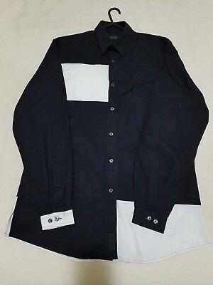 """Mens Versace Classic V2 Shirt Medusa 15"""" Vintage Rare"""