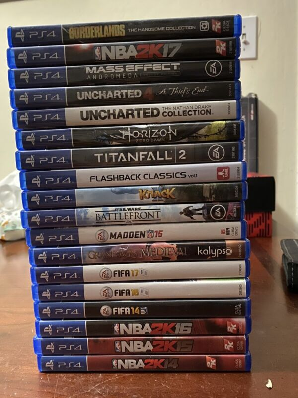 Lot of 18 Ps4 games, Many games in perfect Condition