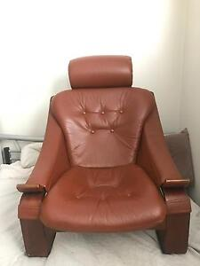 Leather armchair Mayfield Launceston Area Preview