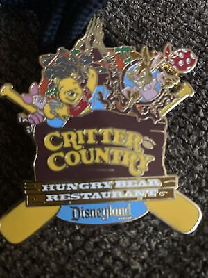 Vintage Disney Critter Country Hungry Bear Pin Large