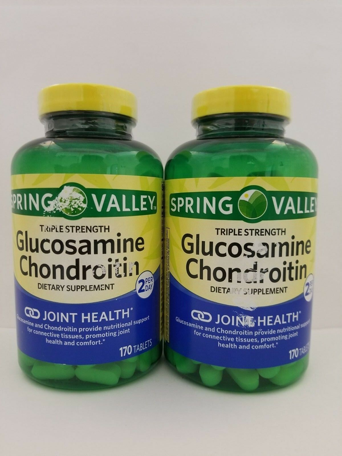 Spring Valley Triple Strength Glucosamine Chondroitin 170 Ta