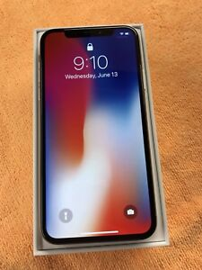 IPhone X 64 GB unlocked from Apple store