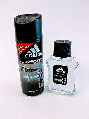 ADIDAS Dynamic Pulse Cologne Eau De Toilette 1.7oz & Deodorant Body Spray ()