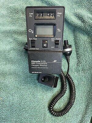 Ohmeda 5125 Mri Compatible Oxygen Monitor