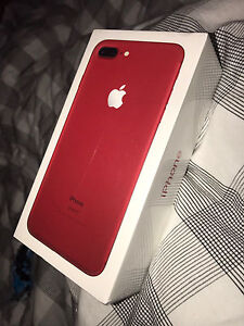 Sealed Bread New IPhone 7 Plus Red 256GB Chermside Brisbane North East Preview