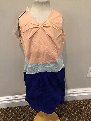 Marni Color Block Dress 6 Nwt