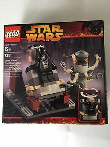 "Lego Star Wars (Used), ""Darth Vader Transformation"" (Rare 1985)"