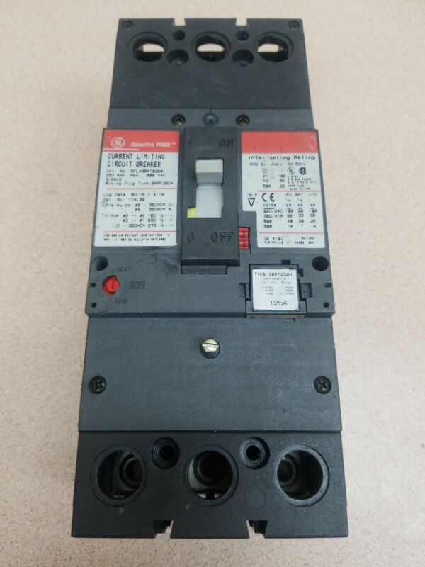 175 AMP RATING PLUG WARRANTY GE SRPF250A175