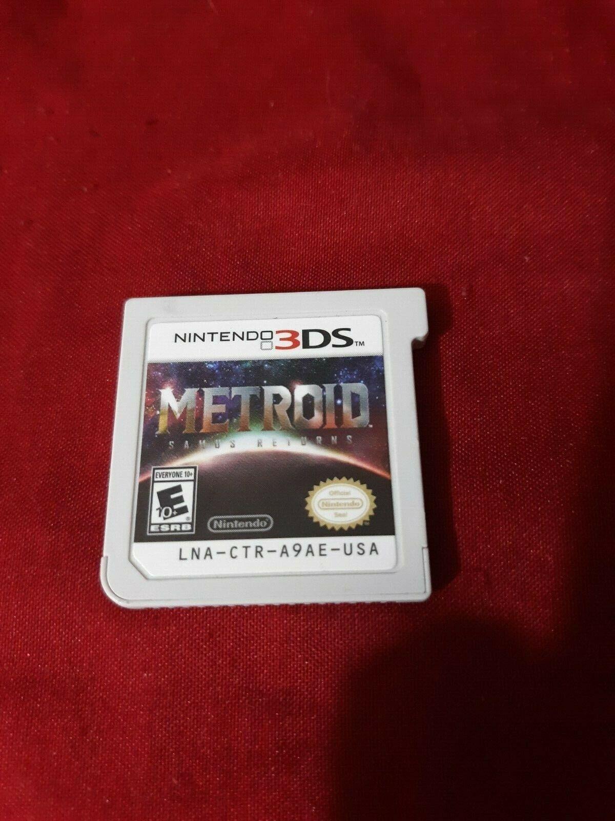 Nintendo 3 DS Game Metroid Samus Returns Oose Game No Case - $19.00