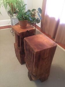 Timber End Tables