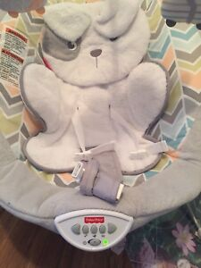 Baby Fisher Price - Sweet Snugapuppy Dreams Deluxe Bounce