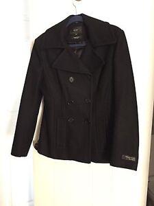 Black woolblend jacket