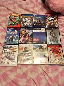 Video games - switch, PS4, ps2, wii