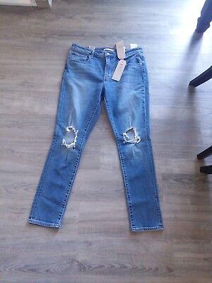 Women's Levis 721 Extraordinary Rise Skinny Jean size 32 x 30