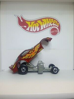 Vintage 1977 Funny car rail dragster Hot Wheels  Malaysia.Excellent cond