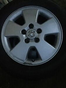 HOLDEN  ASTRA WHEELS AND 95% TYRE WHICH PASSED ROAD WORTHY Redland Bay Redland Area Preview