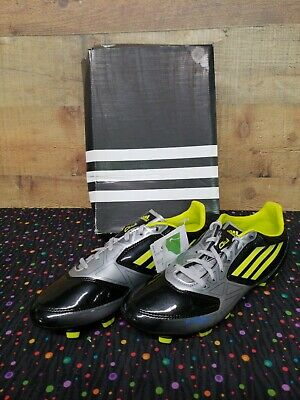 a1b02aaf2196 Adidas F10 TRX FG J Cleats Soccer Junior Kids Boy Shoes Size 5.5 New With  Box