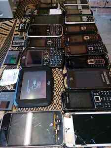 Bulk of items for sale old phones Green Valley Liverpool Area Preview