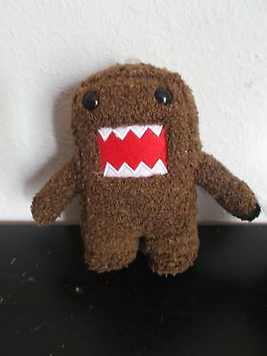 DOMO  PLUSH BROWN 6 1/2 Inch Limited Edition Nwt