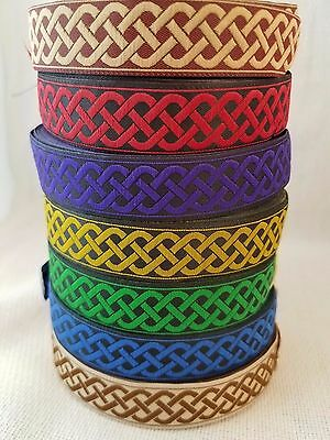 (Celtic Knot 7/8 Wide Sold by the yard)