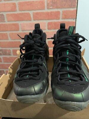 d55db5ab8a6 Nike Air Foamposite Pro Pine Green Black 2011 Size 10.5 Mens