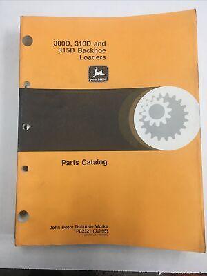 John Deere 300d310d And 315d Parts Catalog
