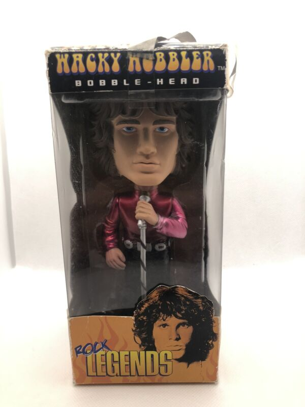The Doors 2009 Funko Rock Legends Jim Morrison Lizard King Wacky Wobbler Bobble