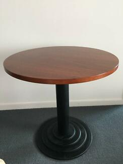 round wooden table for sale dining tables gumtree australia victoria park area burswood