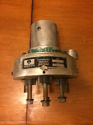 Rockwell Commander Multi-drill Drill Head Model 600