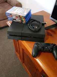 PS4 barley used+games+HDMI Heatherbrae Port Stephens Area Preview