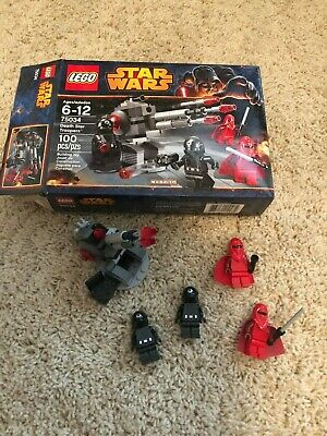 Lego Star Wars Death Star Troopers 75034 with box and minifigures 99.9% complete