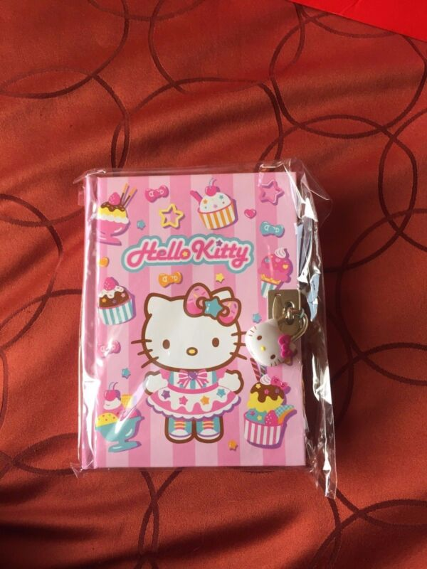Hello Kitty Dairy with Hello Kitty Face Lock